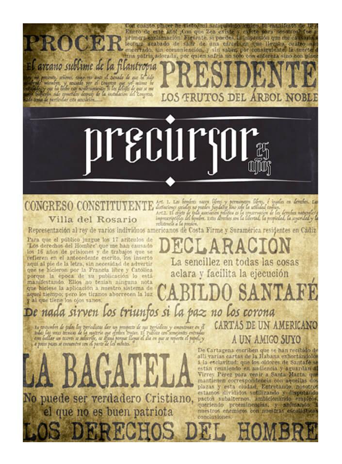 Ron Precursor Etiqueta